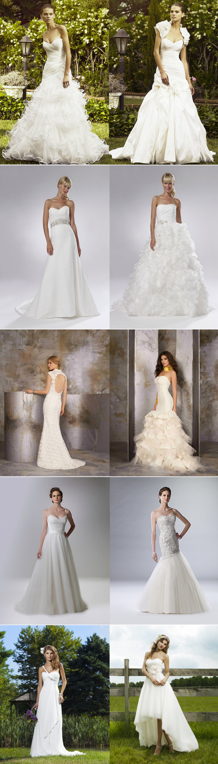 Texas wedding dresses The Blushing Bride in Frisco, Texas