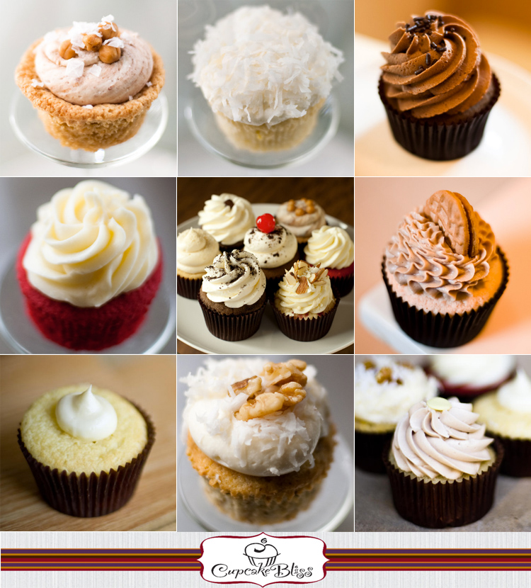 Dallas Fort Worth cupcake bakery Cupcake Bliss in Bedford, Texas