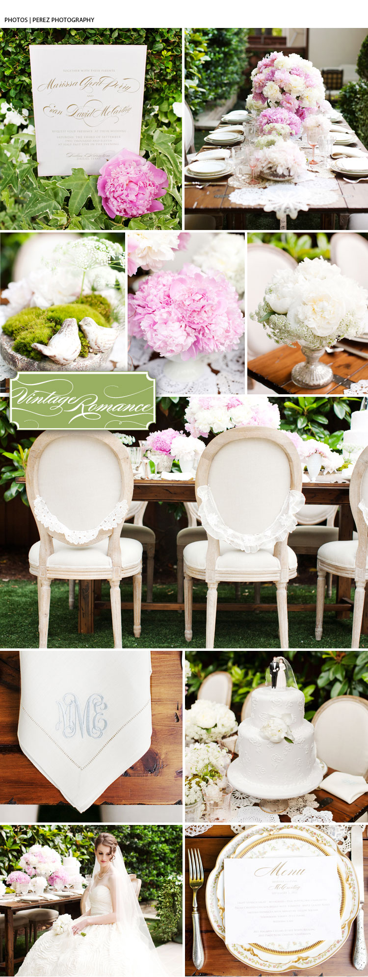 Texas pink and white wedding inspiration Bella Flora of Dallas tabletop design