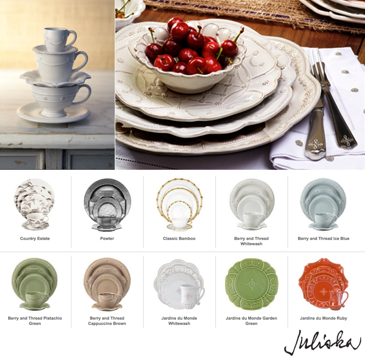 Juliska Bamboo Dinnerware Enlarge
