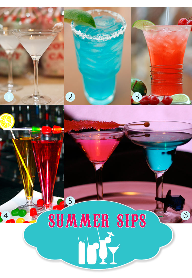 Fun and creative drinks from North Texas caterers