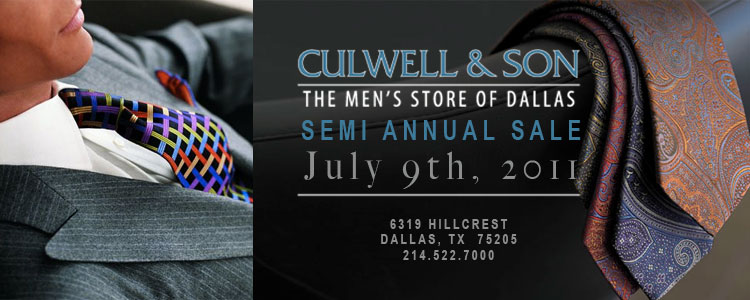 Culwell and Son Semi Annual Sale