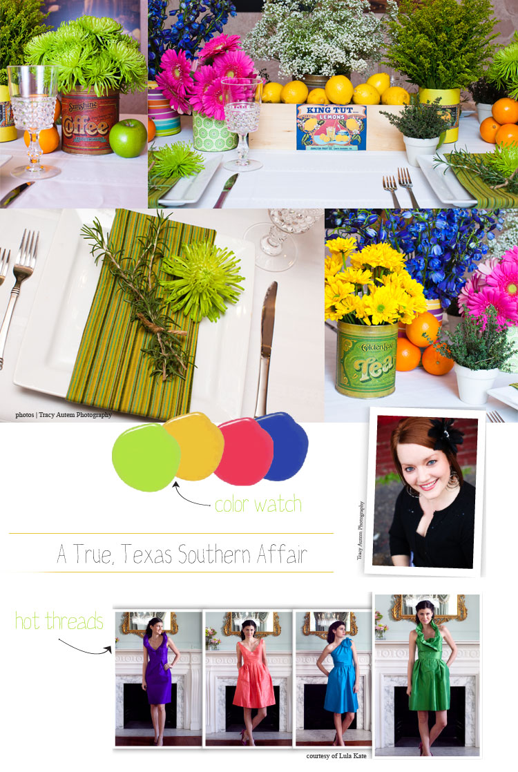 North Texas wedding planner Tami Winn of Tami Winn Events southern inspired wedding tips