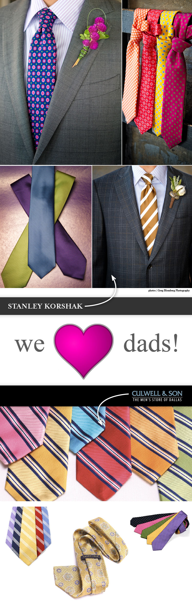 Brides of North Texas groom fashion Culwell and Son and Stanley Korshak