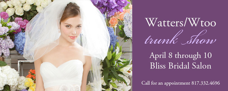 Watters Wtoo Bridesmaid Dress Trunk Show, Bliss Bridal Shop