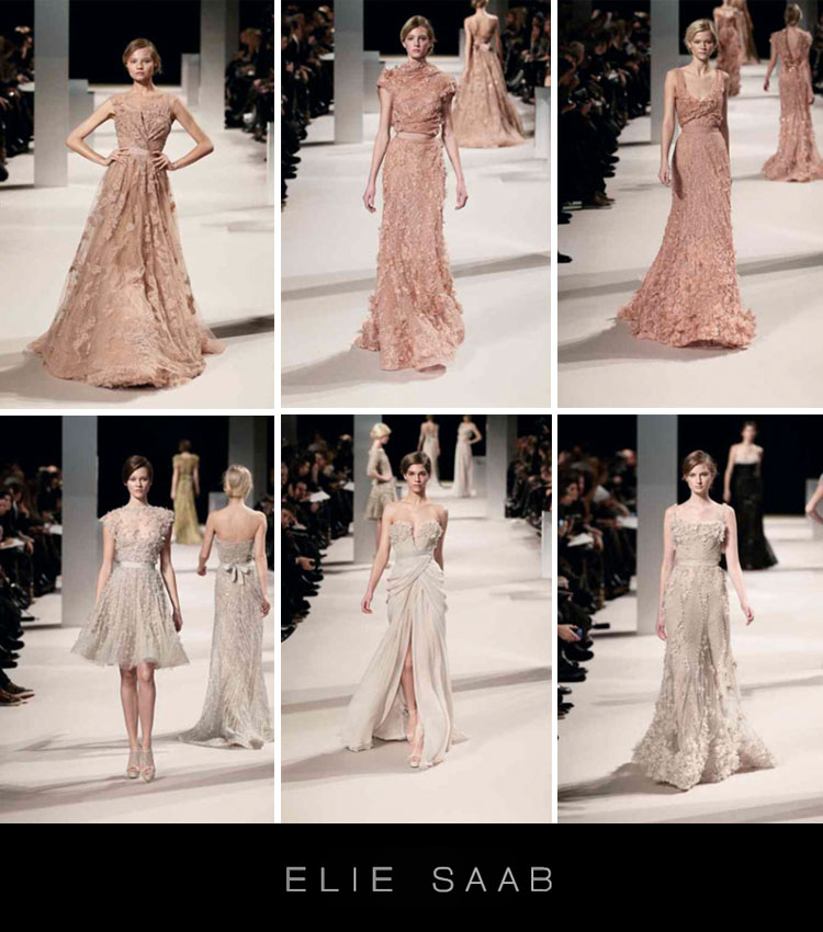 Elie Saab, Haute Couture Collection of Gowns, Stardust Celebrations