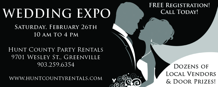 Hunt County Party Rentals Wedding Expo