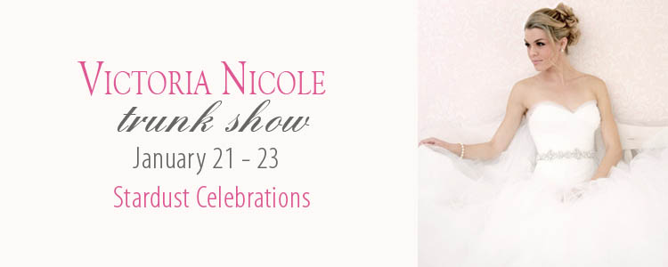 Victoria Nicole Trunk Show at Stardust Celebrations in Plano, Texas