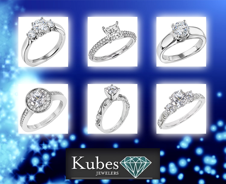 Kubes Jewelers, Engagement Ring Options, Brides of North Texas