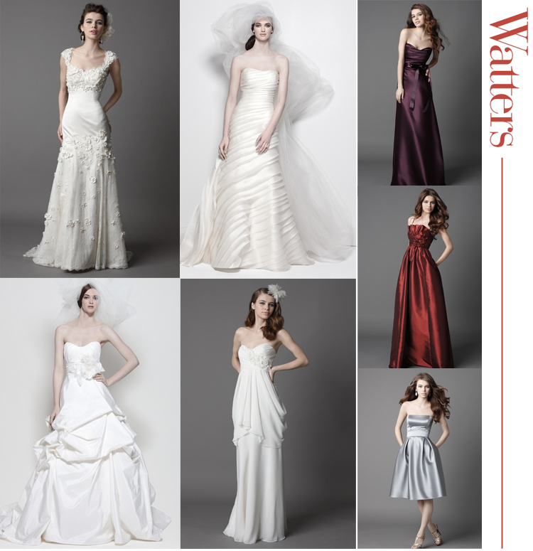 Watters Wtoo Wedding and Bridesmaid Trunk Show, Bliss Bridal Salon
