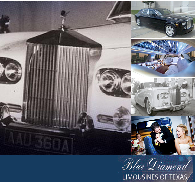 Texas wedding transportation - Blue Diamond Limousines of Texas