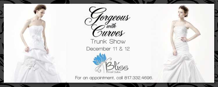 Gorgeous With Curves by Enzoani Trunk Show, Bliss Bridal Salon in Fort Worth