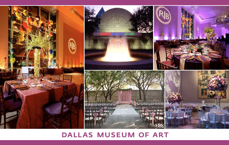 Find the Dallas Museum of Art and other North Texas wedding venues in the DFW area.