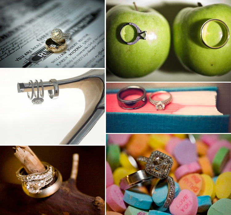 Creative Photography, Wedding Ring Photography, Brides of North Texas