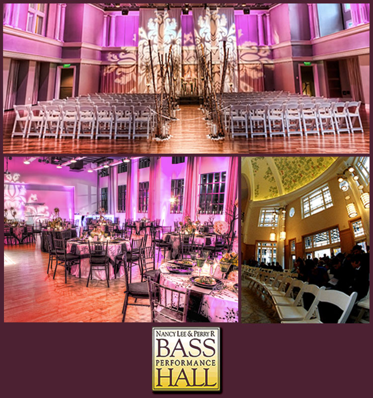 Bass Performance Hall, Fort Worth Wedding Venue, Texas Wedding Venue