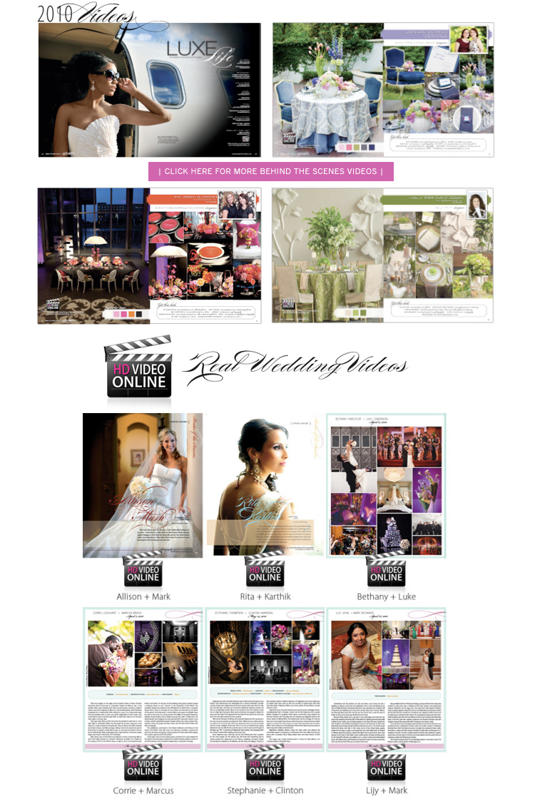 Find North Texas wedding videographers in the Dallas/Fort Worth areas.