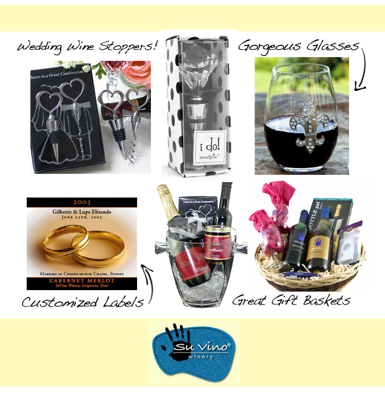 Find North Texas wedding gifts and accessories in the Dallas/Fort Worth areas.