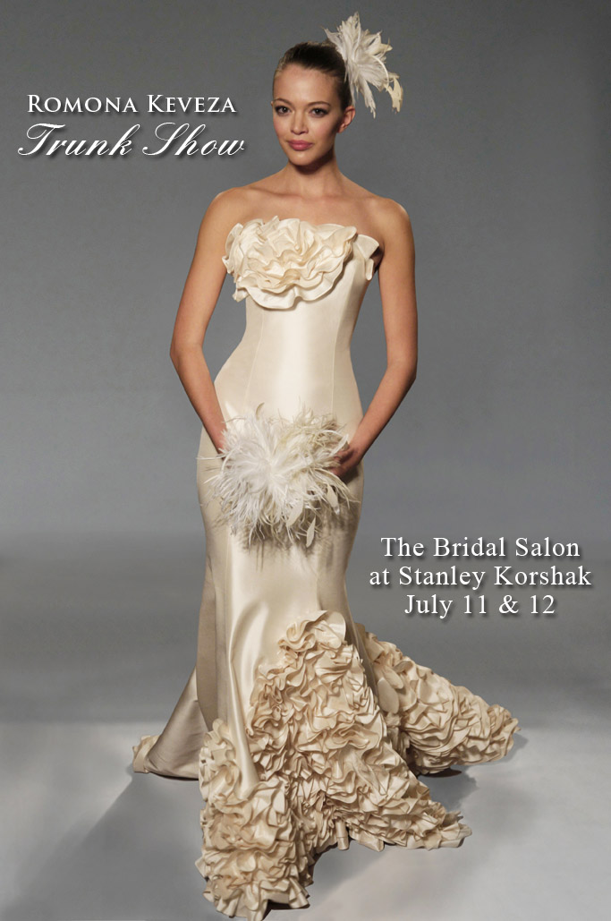 North Texas wedding fashion-Romona Keveza Trunk Show at Stanley Korshak