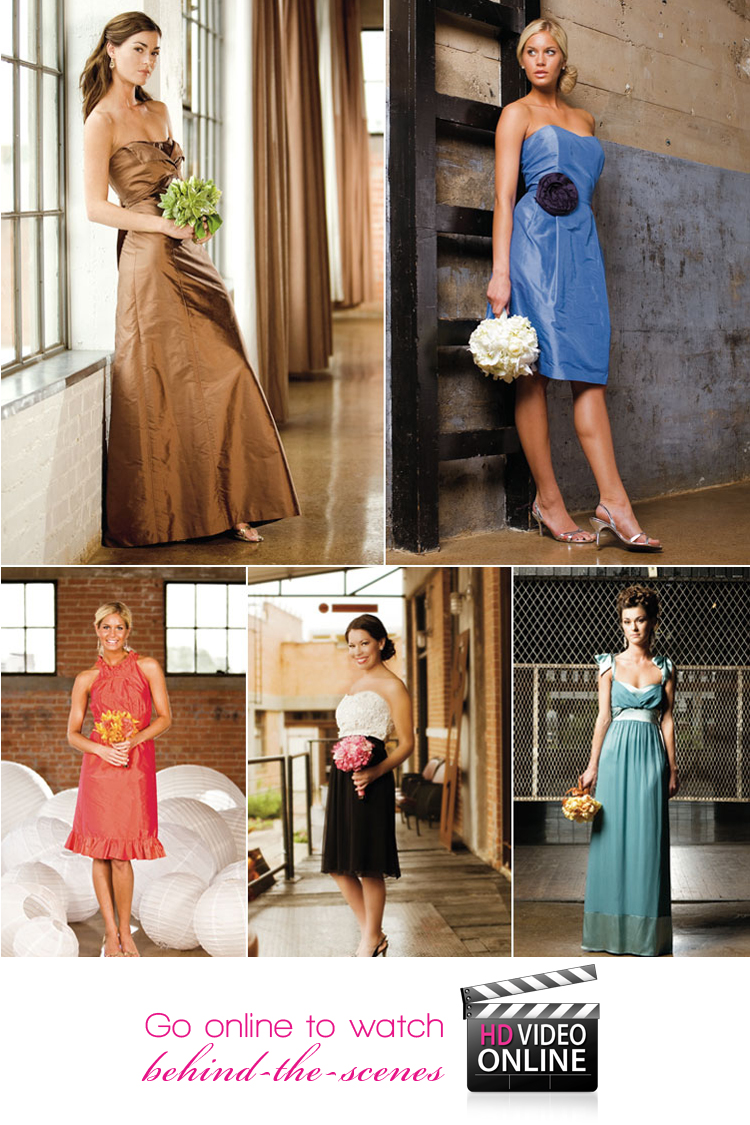 Brides of North Texas, bridesmaid editorial