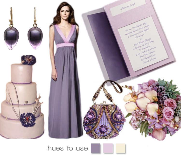 Purple wedding inspiration, lovely lavendar, the brides of north texas