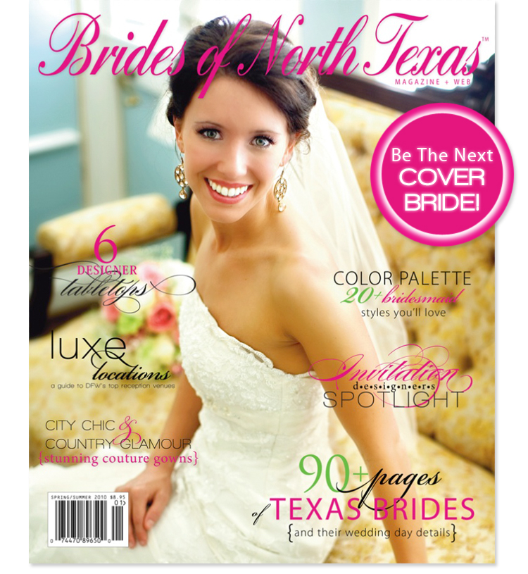Be the next Brides of North Texas cover bride