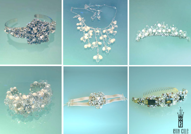 Erin Cole accessories available at Patsy's Bridal Boutique in Dallas