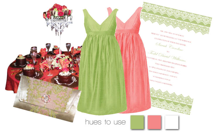 Coral and Celery Inspiration
