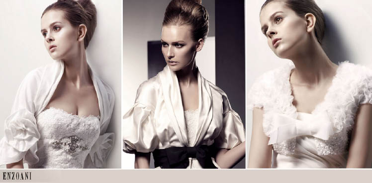 Enzoani Bridal Jacket Collection, Blush Couture Co.