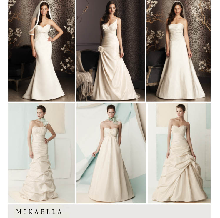 Mikaella bridal gown collection available for Texas brides