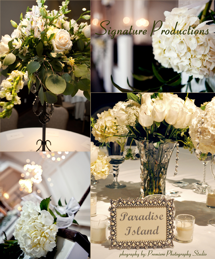 Signature Productions is available for Texas wedding planning, design and production