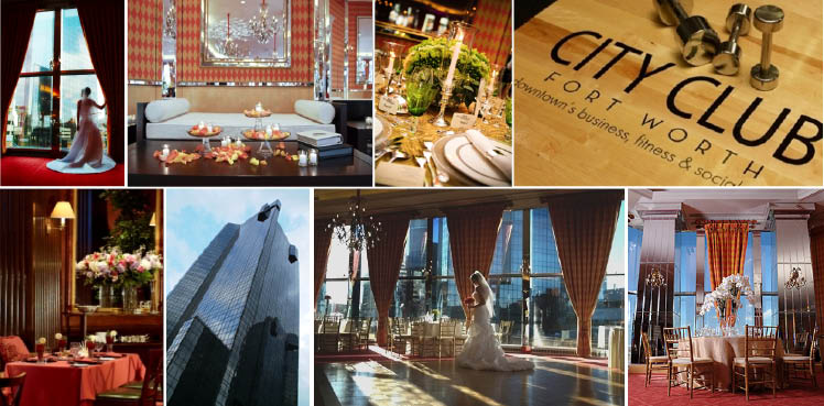 The City Club of Fort Worth is available for Texas weddings and receptions