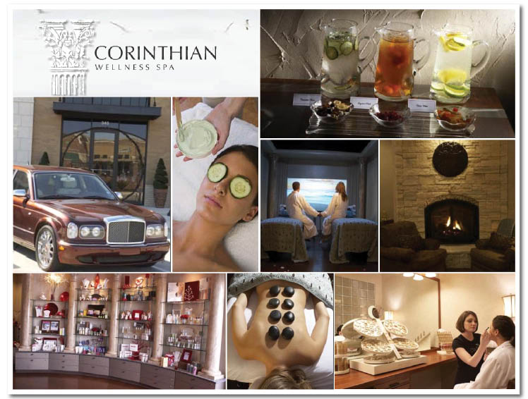 Wedding day spa package available at Corinthian Wellness Spa in Southlake, Texas