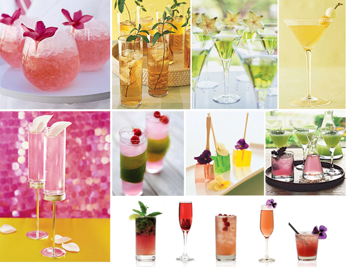 Signature cocktails for your event