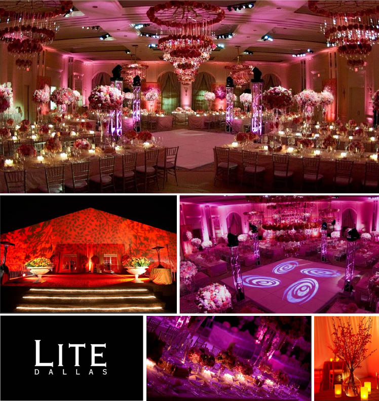Lite Dallas offering lighting, DJ, audio and video in Dallas, Texas