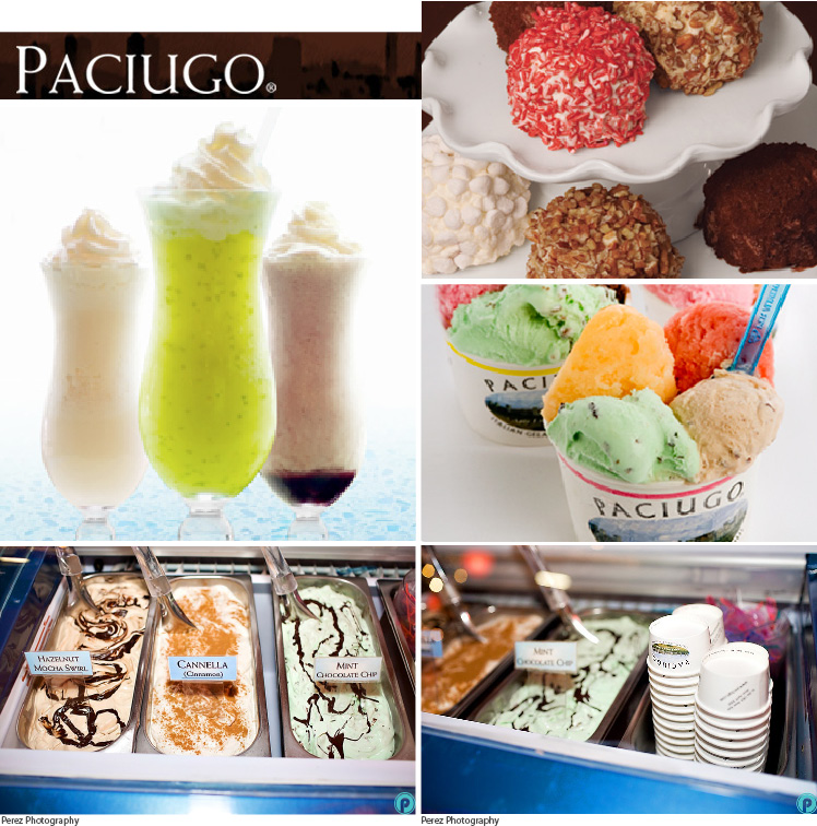 Paciugo gelato located in Dallas-Fort Worth metroplex