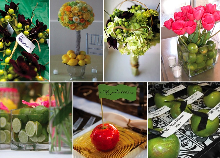 Dallas/Fort Worth Floral Designers using hints of fruit to make an impact.