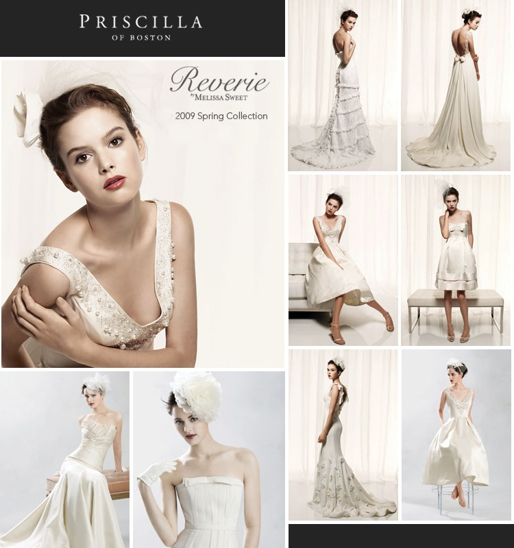 Priscilla of Boston - The Reverie Collection by Melissa Sweet - available at Priscilla of Boston in Dallas Texas
