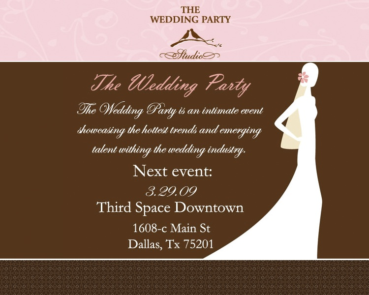 The Wedding Party Studio Event