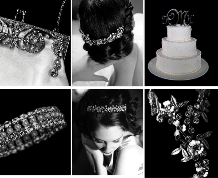 Bling Is in! Designs by Deborah Moreland available at I Do! Bridal Salon and Boutique in Fort Worth!