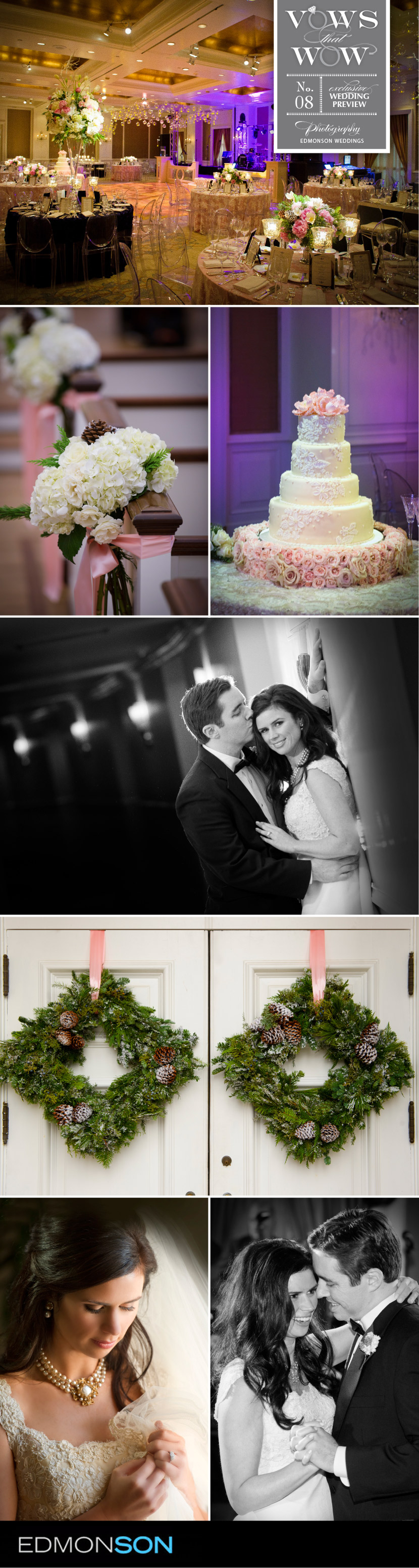 Brides of North Texas vows that wow by Dallas wedding photographers Edmonson Weddings