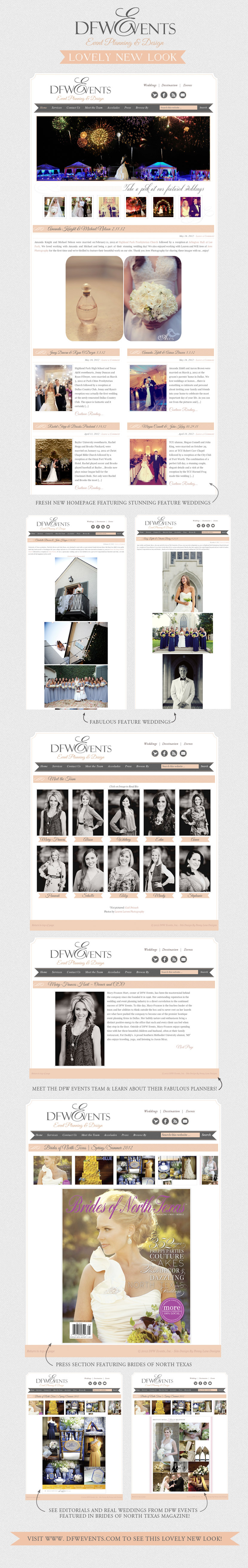 DFW Events new website