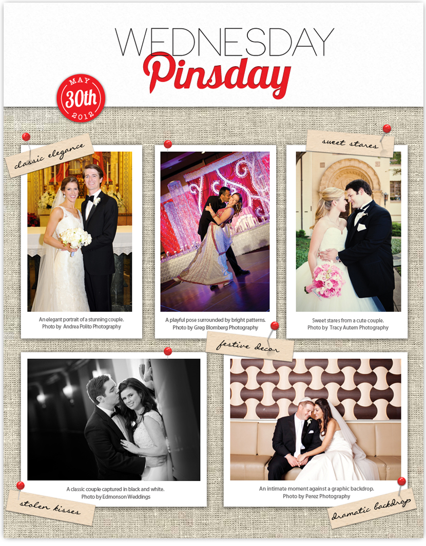 Brides of North Texas Wednesday Pinsday featuring Vows that Wow