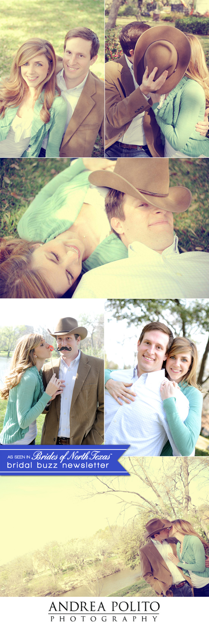 Almost married couple captured by Texas wedding photographer Andrea Polito Photography
