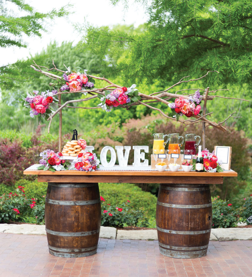 Brunch Wedding Inspiration from The Olive Bench and A Stylish Soiree