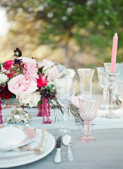 Query Events Tabletop | Bohemian Glam