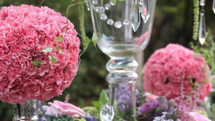 Image for video  Bella Wedding Rentals' Tablescape
