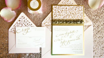 Image for video  Blushing Elegance Tabletop from Donnie Brown Weddings & Events
