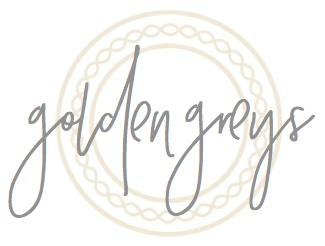 Golden Greys - North Texas Wedding Invitations