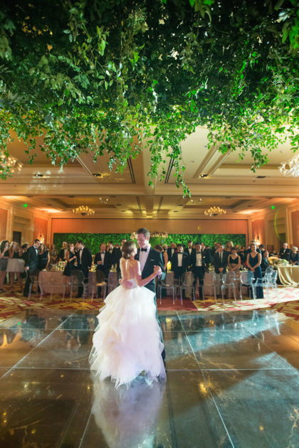 Garden Inspired Ballroom Wedding Rachel Eric