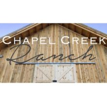 Chapel Creek Ranch Venues